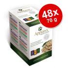 Applaws Pouch in Broth -säästöpakkaus 48 x 70 g