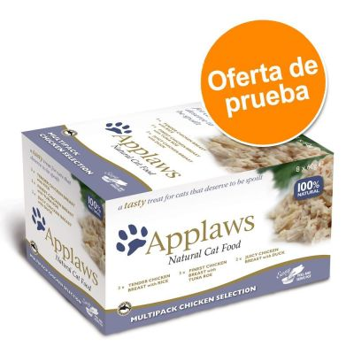 Applaws Tasty para gatos 8 x 60 g - Pack de prueba