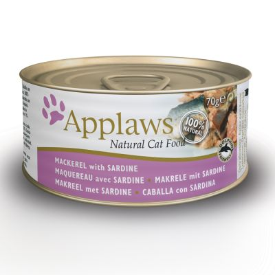 Applaws w bulionie, 6 x 70 g