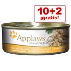 Applaws 12 x 156 g latas en oferta: 10 + 2 ¡gratis!