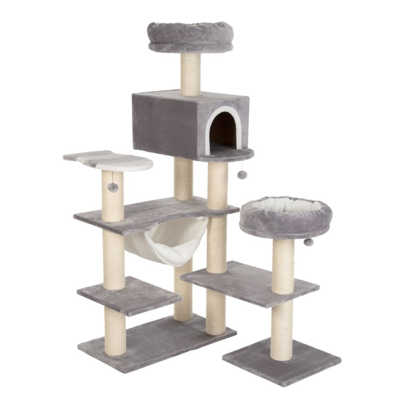 Arbre à chat Maison en pain d'épices XXL