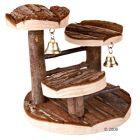 Arbre à grimper pour hamster en bois naturel