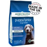 Arden Grange Junior Large Breed poulet, riz pour chien
