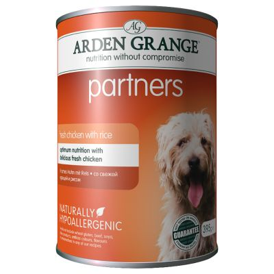 Arden Grange Partners - Chicken, Rice & Vegetables