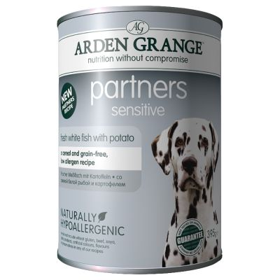 Arden Grange Partners Sensitive - White Fish with Potato