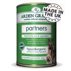 Arden Grange Partners 6 x 395 g pour chien