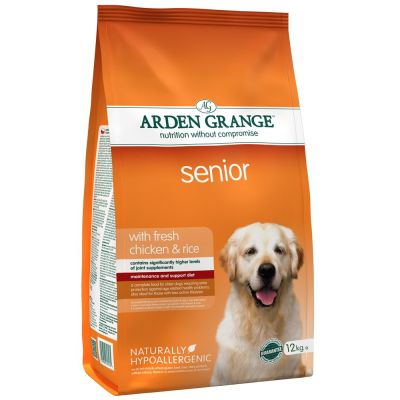 Arden Grange Senior Pollo y arroz
