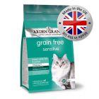 Arden Grange Sensitive Ocean White Fish & Potato - Adult Cat