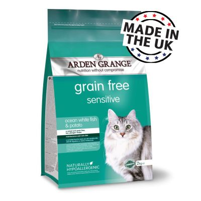 Arden Grange Sensitive Ocean White Fish & Potato - Adult Cat