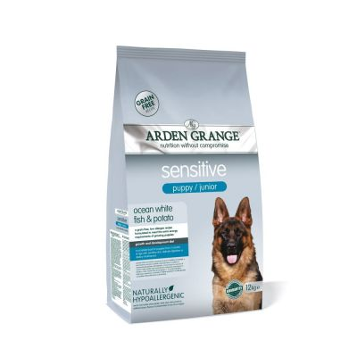 Arden Grange Sensitive Puppy/Junior - Grain-Free Ocean White Fish & Potato