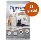 ARENA DEL MES: Tigerino Special Care 12 l en oferta: 10 + 2 l ¡gratis!