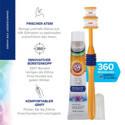 Arm & Hammer Dental Care Set with Toothbrush & Toothpaste
