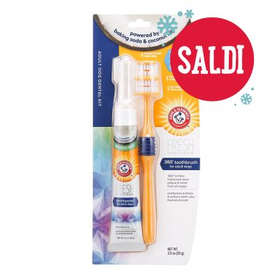Arm & Hammer Set per l'igiene dentale