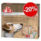 Assortiment de friandises 8in1 pour chien : 20 % de remise !