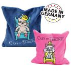 Aumüller Cats on Thrones Valerian Cushion