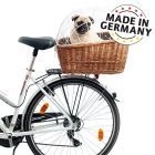 Aumüller Bicycle Basket with Protective Wire for Luggage Rack