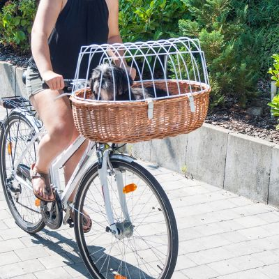Aumüller Cykelkorg med Skyddsgaller för styre