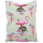 Aumüller Flamingo Shanghai Kissen mit Katzenminze, Baldrian und Dinkelspelz