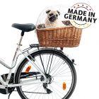 Aumüller Hunde-sykkelkurv for bagasjebrett med gitter