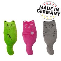 Aumüller Katzenspielkissen Plüschkatzen