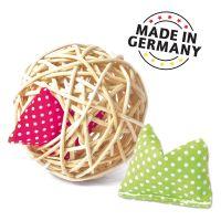 Aumüller Katzenspielzeug Mini-Baldi Rattan Ball