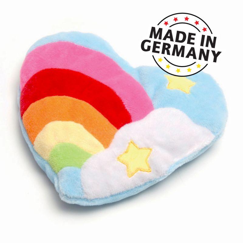 Aumüller Rainbow Heart Cat Toy