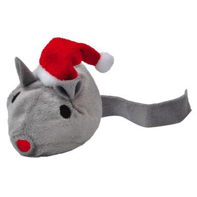 Aumüller Santa Mouse Cat Toy