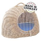 Aumüller Wicker Basket with Cushion