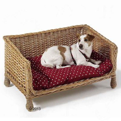 Fantastic Aumuller Wicker Dog Cat Sofa Andrewgaddart Wooden Chair Designs For Living Room Andrewgaddartcom