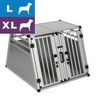 Autohundebox AluRide Doppelbox