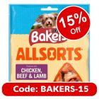 Bakers Allsorts Dog Treats - Chicken, Beef & Lamb