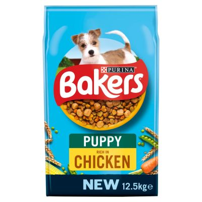 Bakers Puppy Rich in Chicken with Country Vegetables