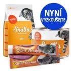 Balení na vyzkoušení Smilla: suché krmivo, mokré krmivo + pasta