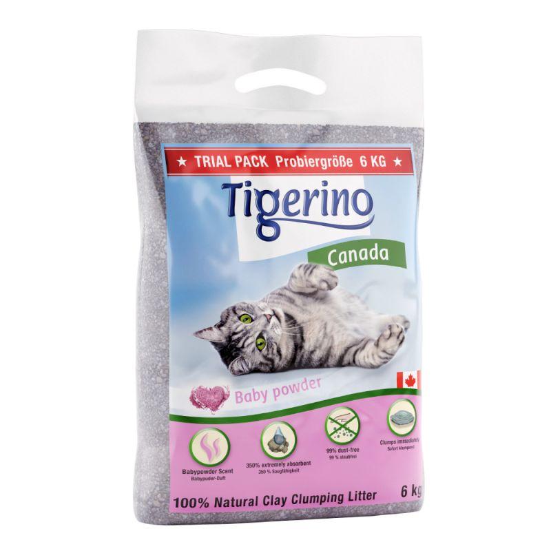 Balení na vyzkoušení: Tigerino Canada  - dětský pudr