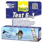 Bandelettes de contrôle de l'eau TetraTest 6 en 1