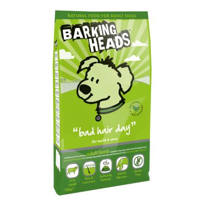 Barking Heads Bad Hair Day Lam Hondenvoer