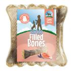 Barkoo Beauty ossos recheados com salmão