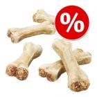 Экономупаковка Barkoo жевательные кости c начинкой из огузка