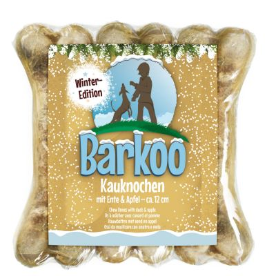 Barkoo Chew Bones Winter Edition - Duck & Apple