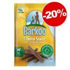 Barkoo Dental Snacks 7 friandises : 20 % de remise !