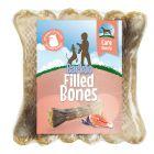 Barkoo Filled Chew Bone – Beauty (with Salmon)