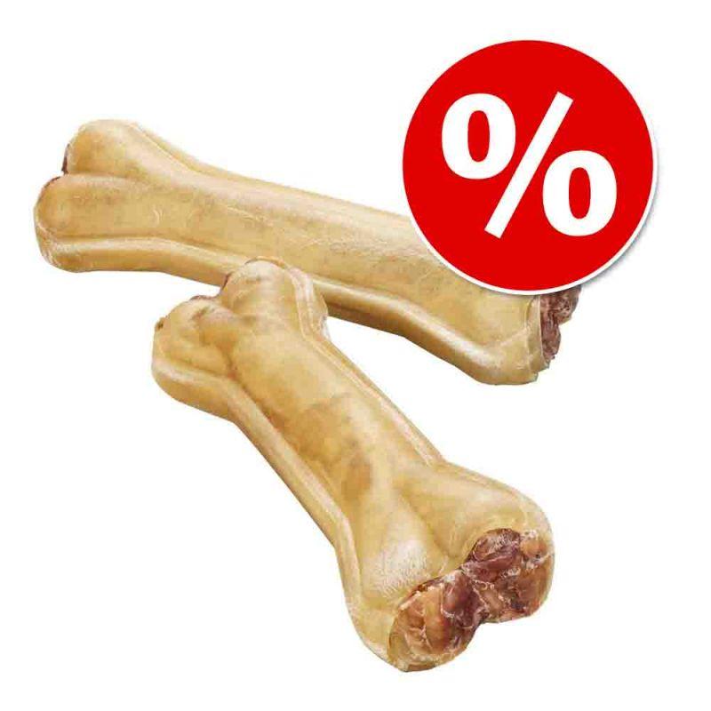 Barkoo huesos prensados rellenos de nervio de buey ¡con descuento!