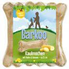 Barkoo huesos rellenos con pollo y plátano - Edición de verano