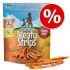 Barkoo Meaty Strips - Tiras de frango snacks para cães a preço especial!