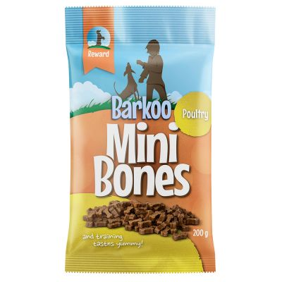 Barkoo Mini Bones (semi-moist), Laks