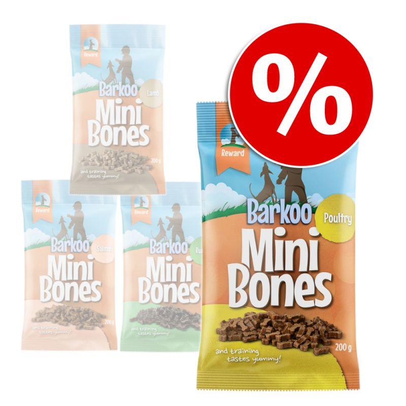 Barkoo Mini Bones (semi-moist) 4 x 200 g / 8 x 200 g