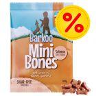 Barkoo Mini Bones 4 x 200 g snacks para perros - Pack Ahorro