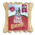 Barkoo polnjene žvečilne kosti - Digest (z rdečo peso)