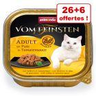 Barquettes Animonda vom Feinsten Adult 26 x 100g + 6 barquettes offertes !
