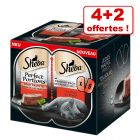 Barquettes Sheba Perfect Portions 4 x 37,5 g + 2 barquettes offertes !